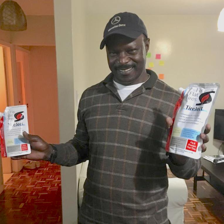 Opti-Ride Kenia krijgt eerste verpakkingen van TireJect