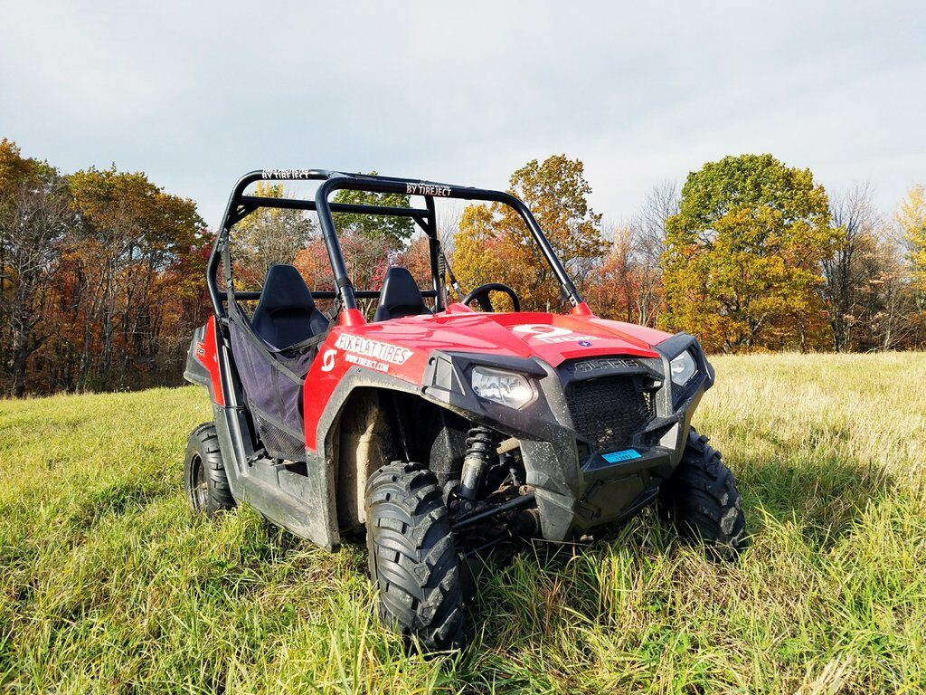 off road en quad band lek repareren
