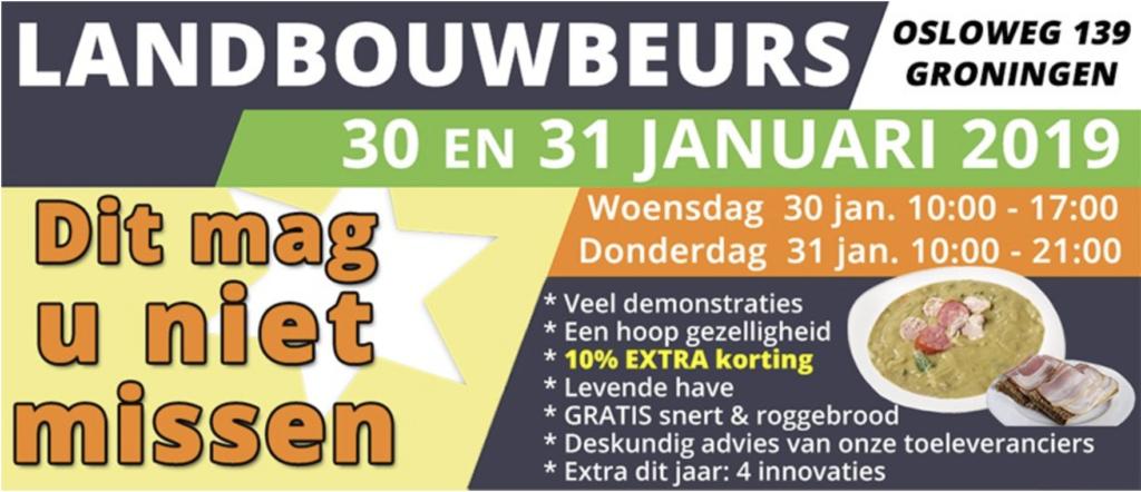 Ervaar TireJect bandreparatie op de landbouwbeurs in Groningen