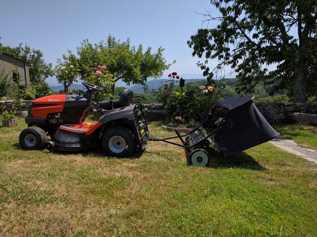 grasmaaierband repareren